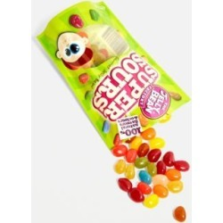 The Jelly Bean Factory Super Sours Jelly Beans - assorted November at Urban Outfitters found on Bargain Bro UK from Urban Outfitters (UK)