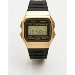 Casio F91W-1 Black and Gold Watch - Mens ALL found on MODAPINS from Urban Outfitters (EU) for USD $45.50
