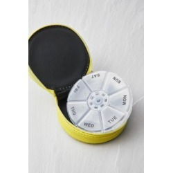 Miamica Lemon Pill Case - Yellow ALL at Urban Outfitters found on Makeup Collection from Urban Outfitters (EU) for GBP 18.71
