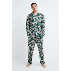 Tommy Jeans Text Logo Pyjama Set - green S at Urban Outfitters found on Bargain Bro UK from Urban Outfitters (UK)