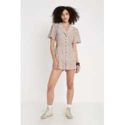 UO Christy Floral Playsuit found on MODAPINS from Urban Outfitters (UK) for USD $61.70