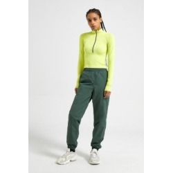 OBEY Easy Nylon Trousers - green L at Urban Outfitters