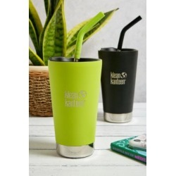 Klean Kanteen 473ml Insulated Tumbler with Straw and Lid - Yellow ALL at Urban Outfitters found on Bargain Bro UK from Urban Outfitters (UK)