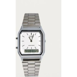 Casio Analogue Silver Watch found on MODAPINS from Urban Outfitters (UK) for USD $39.18