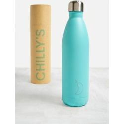 Chilly's - Wasserflasche aus Edelstahl in Grün, 750 ml