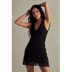 UO Maxwell Me Mini Dress - Black L at Urban Outfitters found on Bargain Bro UK from Urban Outfitters (UK)