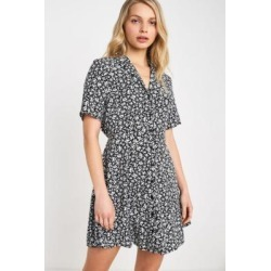 Urban Renewal Remnants Mono Floral Tea Dress found on MODAPINS from Urban Outfitters (UK) for USD $53.37