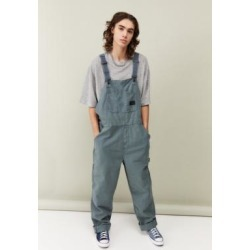 BDG Blue Wash Canvas Dungarees - Blue S at Urban Outfitters found on Bargain Bro UK from Urban Outfitters (EU)