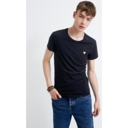 GUESS Black Crew Neck T-Shirt found on MODAPINS from Urban Outfitters (UK) for USD $21.40