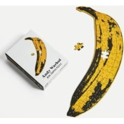 Andy Warhol Banana Mini Jigsaw Puzzle - assorted at Urban Outfitters found on Bargain Bro UK from Urban Outfitters (UK)