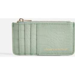 UO Faux Leather Cardholder Wallet - Mint ALL at Urban Outfitters found on Bargain Bro UK from Urban Outfitters (UK)