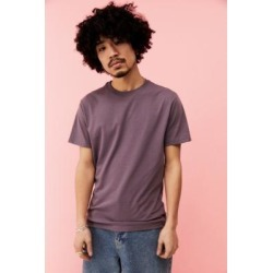 UO Purple Recycled Cotton T-Shirt - Purple M at Urban Outfitters found on Bargain Bro UK from Urban Outfitters (UK)