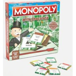 Chocolate Monopoly Game - assorted January at Urban Outfitters