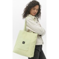 UO Corduroy Pocket Lime Tote Bag - Green ALL at Urban Outfitters found on Bargain Bro UK from Urban Outfitters (UK)