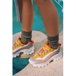 CAT Footwear Intruder 2 Yellow + Pink Chunky Trainers found on MODAPINS from Urban Outfitters (UK) for USD $108.01