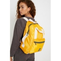 Lefrik Yellow Packable Pocket Backpack - yellow at Urban Outfitters