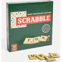 Chocolate Scrabble Game - assorted January at Urban Outfitters