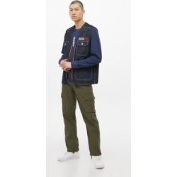 Urban Renewal Salvaged Deadstock Khaki Cargo Trousers - Green 28 at Urban Outfitters found on Bargain Bro UK from Urban Outfitters (UK)
