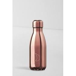 Chilly's - Wasserflasche aus Edelstahl in Roségold, 260 ml