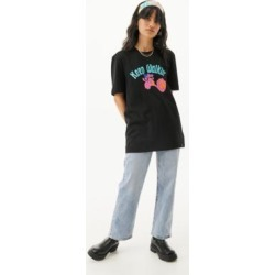Lazy Oaf Keep Walkin' T-Shirt - Black XS at Urban Outfitters found on MODAPINS from Urban Outfitters (EU) for USD $71.04