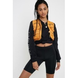 Urban Renewal Remade Orange Bleach Utility Gilet found on MODAPINS from Urban Outfitters (UK) for USD $49.56