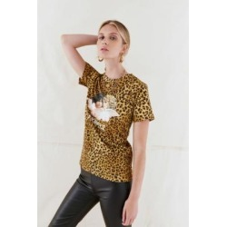 Fiorucci Vintage Angels Animal Print T-Shirt - Assorted M at Urban Outfitters found on MODAPINS from Urban Outfitters (UK) for USD $113.27