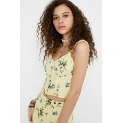 UO Raquel Floral Cami found on MODAPINS from Urban Outfitters (UK) for USD $18.89