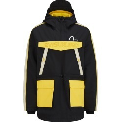 Colorblock Padded Anorak Coat