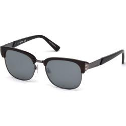 Diesel Dl0235 Unisex Sunglasses DarkHavana/SmokeMirror