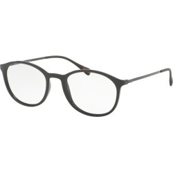 Prada 0Ps 04Hv Men's Eyeglasses GreyRubber found on MODAPINS from Eyezz.com for USD $337.52