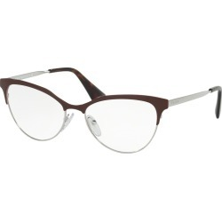 Prada 0Pr 55Sv Women's Eyeglasses Amaranth/Silver found on MODAPINS from Eyezz.com for USD $340.00