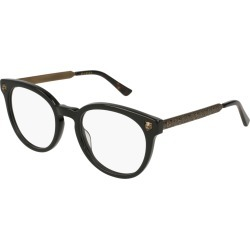 Gucci Gg0219O Women's Eyeglasses Black found on MODAPINS from Eyezz.com for USD $370.85