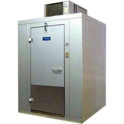 Arctic Indoor 8 X 8 Walk In Remote CoolerMeat Processing Products
