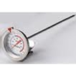 "King Kooker 8"" Probe. King Kooker Deep Fry Thermometer with Clasp"