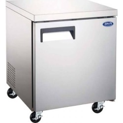 "Admiral Craft Undercounter Freezer E Series 1 Door 27"" GRUCFZ-27"