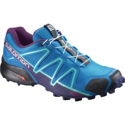 Salomon Women's Speedcross 4 Trail Running Shoes - Blue