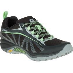 Merrell Women's Siren Edge Waterproof Hiking Shoe - Black/Paradise Green
