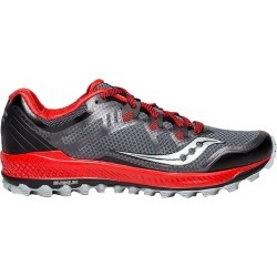 Saucony Men's Peregrine 8 Running Shoes - Black/Red found on Bargain Bro India from atmosphere.ca for $87.03