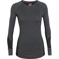 Icebreaker Women's 260 Zone Long Sleeve Crewe Top found on Bargain Bro India from atmosphere.ca for $101.60