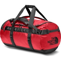 The North Face Base Camp 70L Medium Duffel Bag - TNF Red/TNF Black