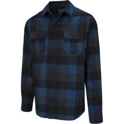 McKINLEY Men's Serra Flannel Long Sleeve Shirt - Deep Dive