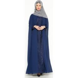 e5fbfebff411d Navy Blue - Fully Lined - Crew neck - Muslim Evening Dress - Sevdem Abiye  found