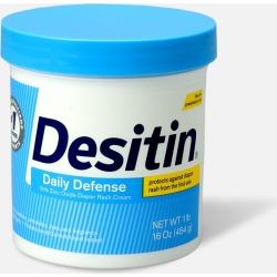 Desitin Daily Defense Zinc Oxide Diaper Rash Cream Jar