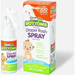 Boogie Wipes Bottoms No-Rub Diaper Rash Pump Spray