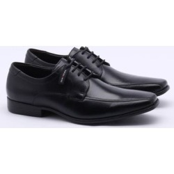 Sapato Social Democrata Prime Couro Preto Masculino found on Bargain Bro Philippines from Gaston for $88.20