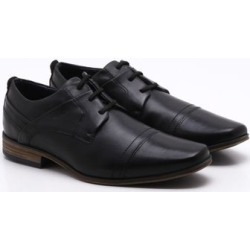 Sapato Social Ferracini Derby Couro Preto Masculino - 37 found on Bargain Bro Philippines from PaquetaBR for $73.50