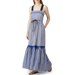Tommy Hilfiger Tie Front Maxi blue-print found on Bargain Bro Philippines from Rent the Runway for $50.00