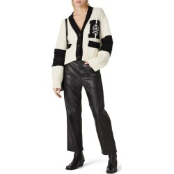 Tommy Hilfiger Letterman Cardigan white found on Bargain Bro Philippines from Rent the Runway for $55.00