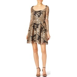 Marchesa Notte Talulah Dress black-gold found on MODAPINS from Rent the Runway for USD $100.00