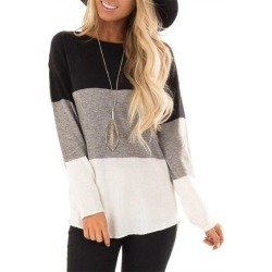 Woman's Long Sleeve T-Shirt found on MODAPINS from dresslily for USD $20.78